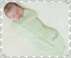 The best thing to swaddle a baby.  LOVE WOOMBIES!