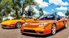 Honda NSX x Lotus Esprit