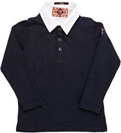 Scotch Shrunk's long-sleeve top is designed to look like a navy slub jersey Henley layered over a white poplin shirt. Shirt front: point collar, Henley: three-button placket, logo patch at left arm. Available in Navy/White. Cotton. Machine wash. Imported. Brand: Retailer: Barneys-Warehouse Similar Item Here  Price : 92.00$ Sale Off Price: 55.00$