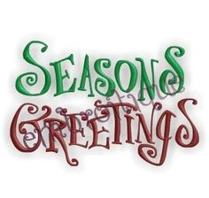 Seasons Greetings by Embroitique on Etsy, $2.99