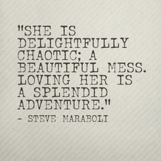 Een oppepper voor als je chaotisch bent met momenten ;)