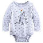 Dumbo Long Sleeve Disney Cuddly Bodysuit for Baby | Bodysuits | Disney Store