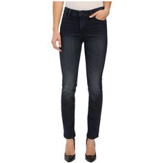 Lucky Brand Hayden Skinny in Branbury Women's Jeans ($109) ❤ liked on Polyvore featuring jeans, super skinny jeans, frayed jeans, mid-rise jeans, dark-wash jeans and dark wash skinny jeans