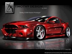 Crazy Cars n Bikes Fans club : Shelby GT500 Eleanor prototype...