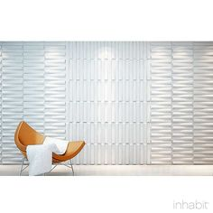 Seesaw Wall Flats - 3D Wall Panels - Inhabit - Inhabit - 5