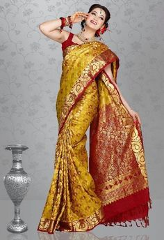 1000 images about kerala wedding saree on pinterest
