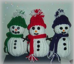 loom knitting snowmen with wonder knitter scarves