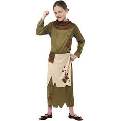 Horrible Histories Peasant Girl - Child Costume