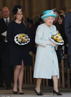In a rare interview Princess Beatrice has named her grandmother the Queen and her mother Sarah Ferguson as her two role models