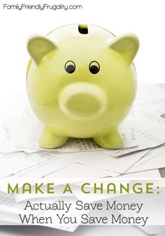 What good is getting something on sale if you just waste the money elsewhere? Here's a great way to use those savings to make a big difference in your bank account. Awesome tips!
