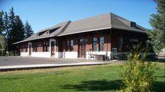 Laramie Historical Train Depot. Open house in November.