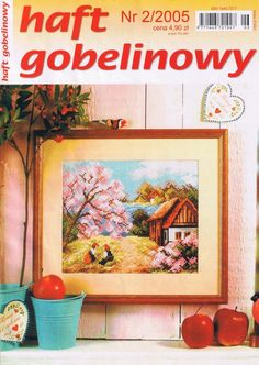 (1) Gallery.ru / Фото #1 - 2005 02 - tymannost Cross Stitch Magazines, Finding Yourself, Projects, Painting, Journals, Cross Stitch, Dots, Log Projects, Painting Art