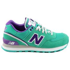 New-Balance-Damen-Sneaker-WL574-SJT-Green-Purple