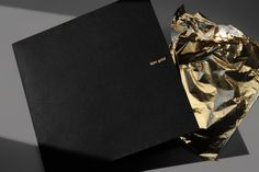 Invitation for the edition of the Ballets Jazz de Montreal benefit-ball. Ballet, Gold Invitations, Bookbinding, Editorial Design, Invitation Design, Montreal, Prints, Behance, Buisness