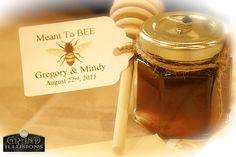 Honey jar favors