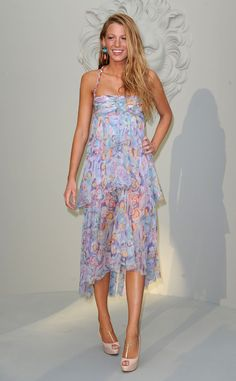 Tendencia Dress for Less Vestidos Encolados: Blake Lively