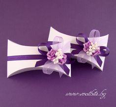 Ръчно изработени сватбени покани по индивидуален проект / Individual handmade wedding invitations / www.svatbite.bg