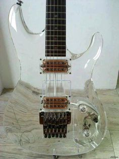 Can you play guitar? So you will like the Crystal Guitar!