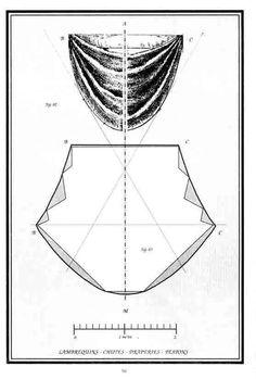 Bustle apron pattern