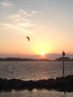 """IDLE A WHILE 1A: """"We had a great family vacation! Our condo was spotless and Tybee Vacation Rentals was able to accommodate our request. This is our second trip to Tybee and we are planning trip #3 im hooked on the Island Life! Thanks!!!!! Picture is our last night on Tybee and the amazing Sunset!"""" #tybee #tybeeisland #sunset #travel #beach #vacation"""