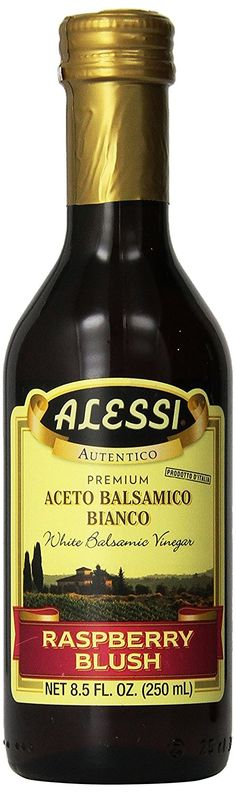 Alessi - Raspberry Balsamic Vinegar, 8.5 oz. => If you love this, read review now : Fresh Groceries