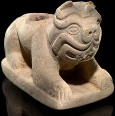 """moundville cougar women Pottery and copper symbols from moundville, alabama  spider design  commonly called """"spider woman"""" but  mississippian piasa or water- cougar/cat monster effigy pipe,  etowah statues, male and female,  mississippian culture."""