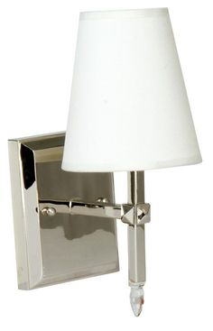 View the Craftmade 18405-1 Garnett 1 Light Bathroom Wall Sconce - 5.25 Inches Wide at LightingDirect.com.