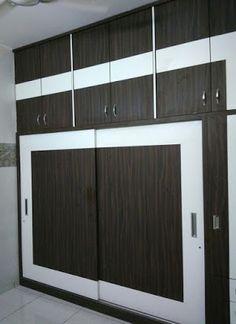 Modern bedroom cupboard design ideas - wooden wardrobe interior designs 2019