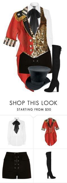 """""""ringmaster"""" by purpelleunicorn ❤ liked on Polyvore featuring Polo Ralph Lauren, River Island, Roberto Cavalli, women's clothing, women's fashion, women, female, woman, misses and juniors"""