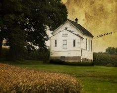 Rural Schoolhouse Photograph