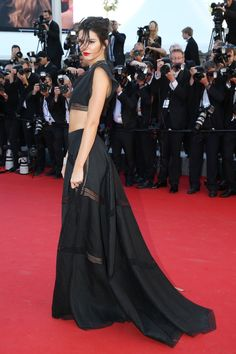 keeping-up-with-the-jenners: Kendall jenner the screening of the film Youth at the 68th annual Cannes Film Festival in Cannes