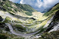 According to Jeremy Clarckson this is the greatest road in the world. This is the Transfagarasan!