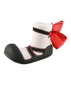 ATTIPAS BALLET RED baby shoes slippers non slip rubber soles gripper best brand