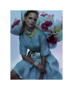 love all the jewelry!!! Agnete Hegelund by Stefano Moro Van Wyk for Flair February 2012