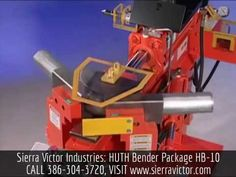 Sierra Victor Industries: HUTH Bender Package. MODEL HB-10, For more information or to order, CALL 386-304-3720, VISIT http://sierravictor.com/index.php?dispatch=products.view&product_id=3825