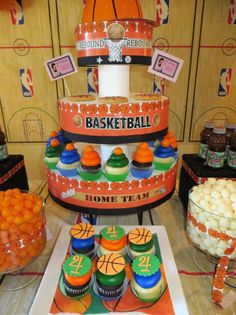 Dos decoraciones para fiestas infantiles inspiradas en el Basketball | Ideas para Decoracion