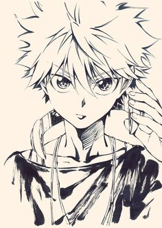 Browse Killua Zoldyck Hunter X Hunter collected by Khalid Afkir and make your own Anime album. Manga Anime, Sketches, Hunter, Drawings, Killua, Hunter Anime, Hunter X Hunter, Anime Sketch, Anime Characters