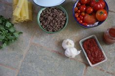 How to make Cannelloni Recipe with black olives fresh tomato basil and minced meat