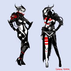 qunari female - Google Search