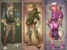 Hyrule Hipsters