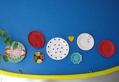 Pratinhos de R$1,99 repaginados! Tutorial Diy, Polka Dots, Plates, Tableware, Interior, 1, Garden, Shop, Home