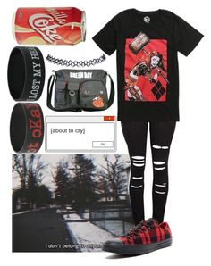 Untitled #328 by biter-sweet on Polyvore featuring polyvore fashion style Converse Hot Topic Wet Seal clothing