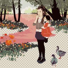 Katogi Mari Illustration tokyo