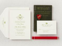 Love Logo No.21 Wedding Invitation | photo by Claudia López Photography #weddinginvitations