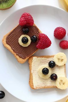 healthy snacks for toddlers / healthy snacks ; healthy snacks for kids ; healthy snacks on the go ; healthy snacks for work ; healthy snacks to buy ; healthy snacks for toddlers Cute Food, Good Food, Yummy Food, Cute Snacks, Snacks Ideas, Food Art For Kids, Fun Food For Kids, Easy Food Art, Children Food