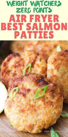 Try this Air fryer salmon patties, so delicious and healthy! Keto, paleo, and low carb. You can make this ground salmon cakes from frozen and from fresh salmon fish fillets. Dont forget a touch of lemon! quick recipe under 10 minutes. Canned Salmon Recipes, Healthy Salmon Recipes, Seafood Recipes, Frozen Fish Recipes, Healthy Salmon Cakes, Easy Recipes, Keto Recipes, Vegetarian Recipes, Snacks Recipes