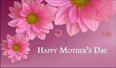 Happy Mother's Day to all moms everywhere!  May you have a beautiful weekend.  God Bless you!  <3