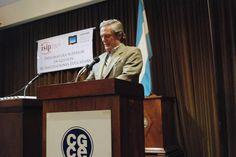 Dr. Enrique Corti, Decano de la Escuela de Humanidades de la Universidad Nacional de San Martín (UNSAM).