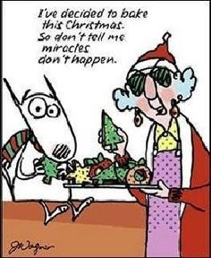 Maxine on Christmas miracles... :D