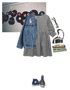 """20"" by appleandrea ❤ liked on Polyvore featuring Converse and Eos"